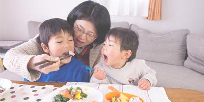 家族でおいしく食べる古代米
